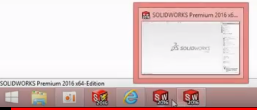Bechtle CAD Knowledgebase - SOLIDWORKS Icon in Windows Taskbar